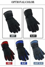 Winter Warm Ski Glove -30 Degree Windproof Waterproof Unisex Security Protection image 8