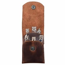 Hide & Drink, Leather Double Nail Clipper Case/Beauty & Personal Care/Travel Ess