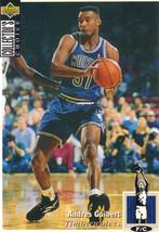1994-1995 Upper Deck Collector's Choice Card Andres Guibert #251 Timberwolves - $3.95