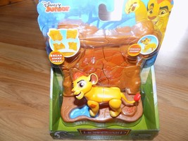 Disney The Lion Guard Kion PVC Poseable Figure Toy Kion's Toppling Rock ... - $16.00