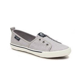 Sperry Top-Sider STS81961 Lounge Wharf Slip-On Sneaker Grey Size 12 - $49.49