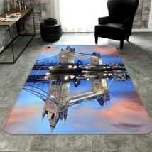 3D London Brücke Rutschfest Teppich Matte Raum Matte Qualität Elegant Teppich DE - $94.00+