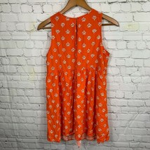 Old Navy Women's Orange Floral Print Short Dress Casual Sleeveless Size M - $18.29