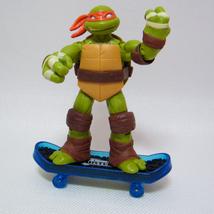 "Ninja Turtles TMNT Michelangelo 4"" Loose Figure 2012 Nickelodeon, Playmates - $8.50"