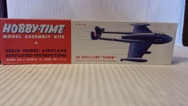Vintage Hobby-Time Hobby Time Hobbytime De Havilland Venom Jet Model! BNOS - $44.55