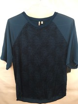 Calvin Klein Jeans Legion Blue 407 Short Sleeve Shirt - Size M - $14.84