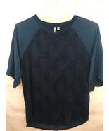 Calvin Klein Jeans Legion Blue 407 Short Sleeve Shirt - Size M - $14.84