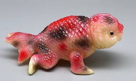 Yamomark GID (Glow in Dark) Small Kingyosaurus Fish image 3