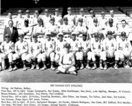 1967 KANSAS CITY ATHLETICS A's 8X10 TEAM PHOTO BASEBALL PICTURE MLB KC - $3.95