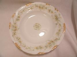 "Theodore Haviland Limoges France Bowl White Floral 7 3/4"" - $15.99"
