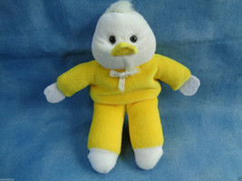 Yellow & White Baby Chick Finger Puppet - no tags - $1.56