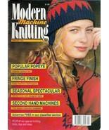 Modern Machine Knitting Feb 1992 Magazine POPEYE Intarsia and Gerbil Des... - $29.99