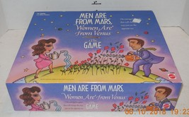 Vintage 1998 Men Are From Mars Women Are From Venus The Board Game Mattel - $14.03