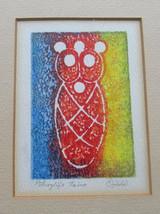 "Petroglifos Tainos Title ""Baby""  Symbols Painting Signed by Artist Ojeda... - $124.99"