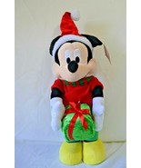 "Disney Mickey Mouse Door Greeter Christmas Present Plush Decoration 23"" NWT - $45.99"