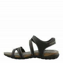 Khombu Women's Ava Sport Comfort Footbed Outdoor Black Sandals image 4