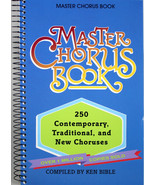 Master Chorus Book NEW 250 Contemporary Traditional & New Choruses Spira... - $16.44