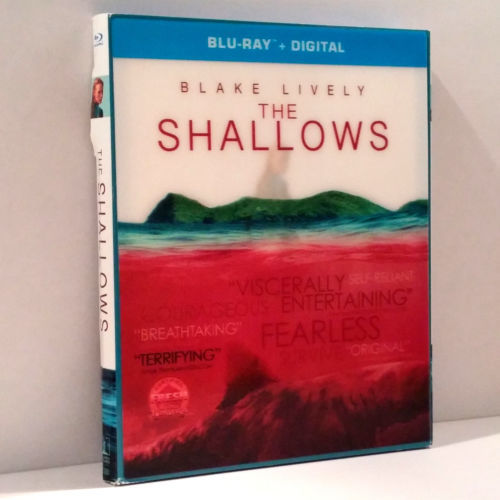 The Shallows [Blu-ray] (2016) with lenticular slip cover
