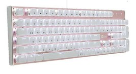 Qsenn ARES-Q150 Korean English Keyboard Blue Switch USB Wired LED Crystal Keycap