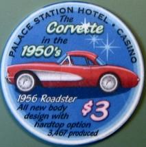 $3 Casino Chip, Palace Station, Las Vegas, NV. M71. - $6.50