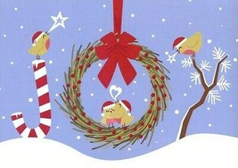 Joy To You And A Very Happy Holiday - Christmas Tree Free Greeting Card ... - $2.96