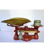 Vintage Red Detecto Scale No. 4 Jacobs Bros. Inc. NY  - $115.00