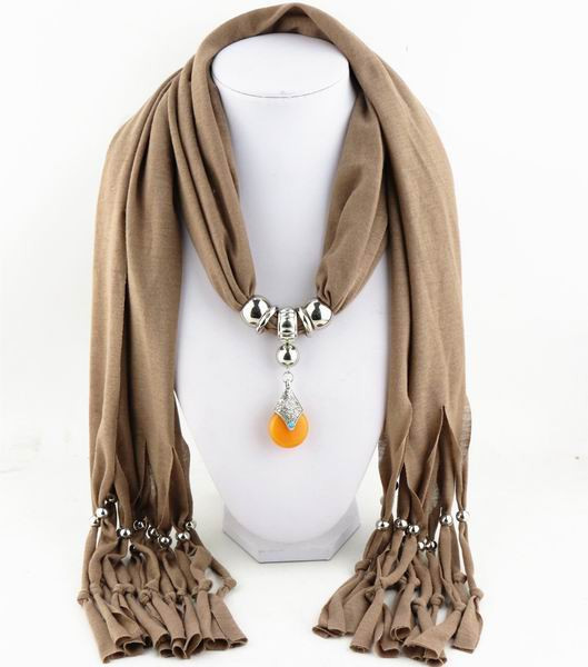 Charms Scarf jellery pendant Scarf Scarves lace Scarf image 14
