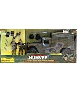 World Peacekeepers Power Team Elite Humvee Truck And Poseable Action Fig... - $59.39