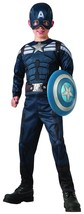 Capitaine América Winter Soldier 2 In 1 Réversible Garçons Déguisement H... - $31.41