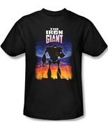 The Iron Giant Animated Movie Poster Logo T-Shirt NEW UNWORN - $22.99