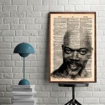 Celebrity Art Print-Samuel L. Jackson Art Print-Movie Prints-Samuel L. J... - $11.82