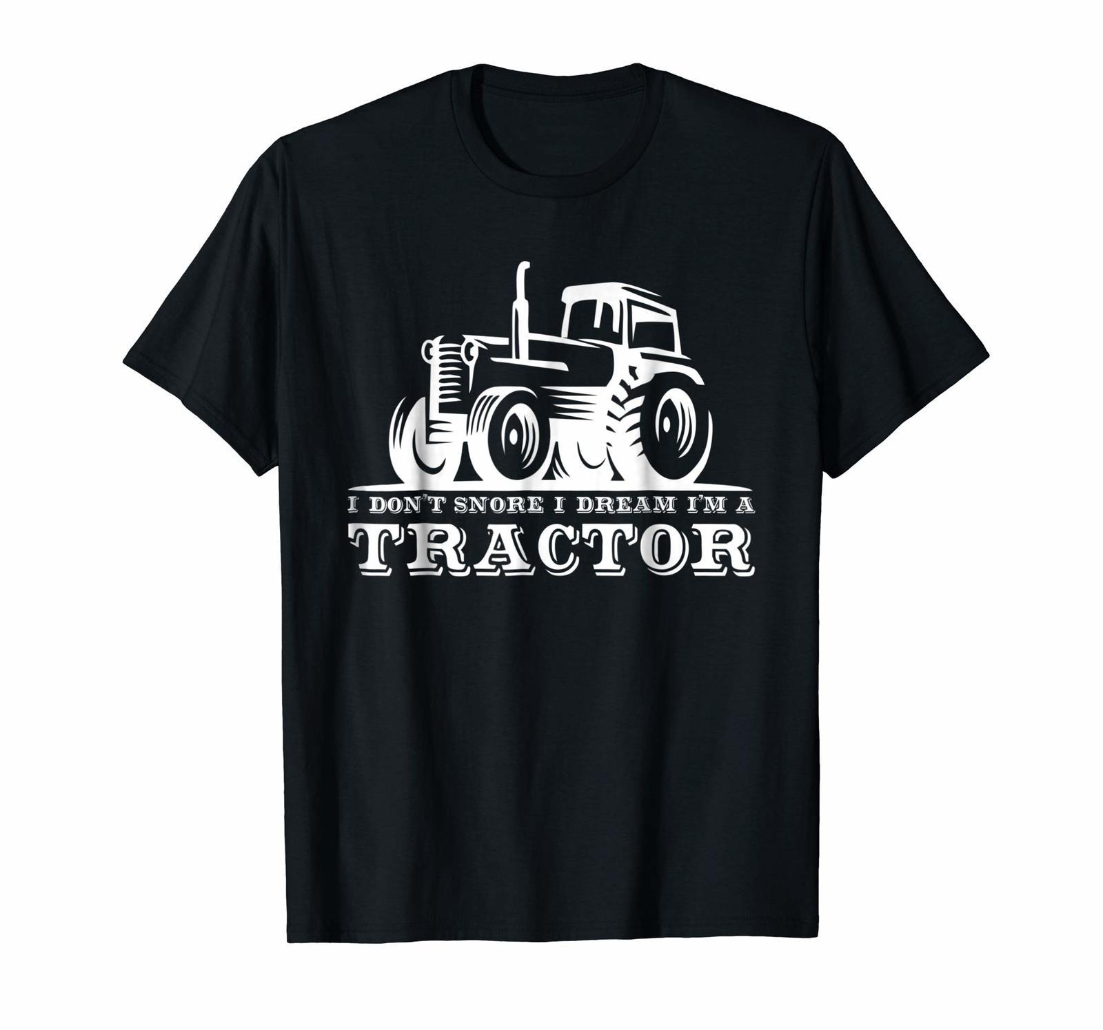 Brother Shirts - Funny I Don't Snore I Dream I'm A Tractor T-Shirt Men