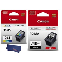 Genuine Canon CL-241 Color Ink Cartridge (5209B001) (With PG-240XXL) - $116.99
