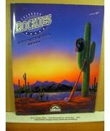 Colorado Rockies Inaugural Spring Training 1993 - $8.99