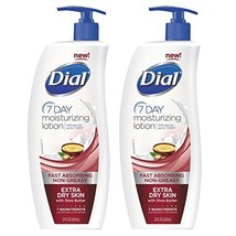 Dial 7-Day Moisturizing Lotion with Shea Butter For Extra Dry Skin, 21 O... - $18.20