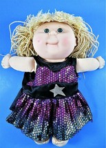 Cabbage Patch Kids 13 Inch Doll 1990-91 Hasbro Pretty Crimp n Curl First Edition - $18.80