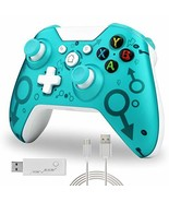 Green Wireless Controller Compatible with Xbox One S X PS3 and PC with 2... - $112.99+