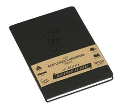 **NEW GENTLEMEN'S HARDWARE Waterproof Weatherproof Notepad NoteBook~ SEALED - $13.91