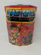 Vintage He Man Master of Universe 'COLLECTORS CASE' 8 Figure 1984 Mattel... - $29.69
