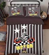 3D Locomotive Boy 26 Bed Pillowcases Quilt Duvet Single Queen King US Lemon - $102.84+