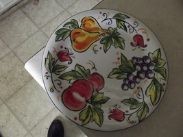 Table Tops Unlimited Sweet Orchard dinner plate 4 available - $6.09