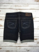 SILVER JEANS SHORTS Buckle Low Rise Toni Denim Cuffed Dark Stretch Jean ... - $54.20