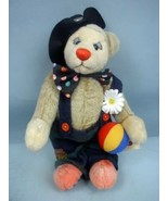 """Ganz 12"""" Clarence the Bear by Mary Halstead 2001 With Hang Tag - $36.62"""