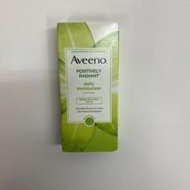 Aveeno Positively Radiant Skin Daily Moisturizer SPF 15 4oz Exp 05/2021 - $19.79