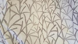 TREE BRANCHES, Barrow Fabrics, Silver Grey, Cream, 2 yard pc. Upholstery Fabric, - $25.00