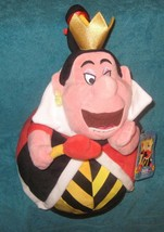 Disney Store Plush Alice in Wonderland Red Queen of Hearts. Medium.  - $28.37