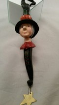 House Of Hatten, Hanging Witch Ornament, Halloween Pumpkin, Trick or Tre... - £15.52 GBP