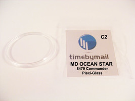 Watch Crystal New For MIDO OCEAN STAR Commander 8479 Replacement Plexi-Glass C2 - $19.19
