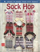 Knit Pattern Booklet-SOCK HOP-14 Designs ~Make Up For Christmas Gifts~ - $7.66