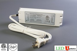 LEDUPDATES 24v 2.1A Triac Dimmable driver 50w LED Light Power Supply for... - $45.99